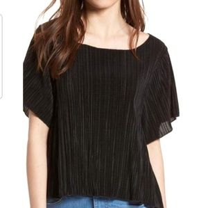 NWT Madewell Romantic Swingy Micropleat Blouse